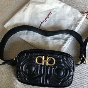 SALVATORE FERRAGAMO Quilted Belt Bag